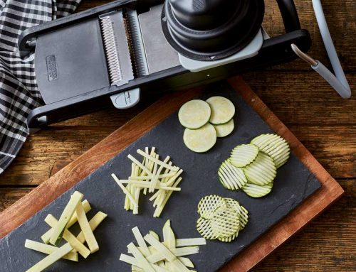 Küchenhelfer – wo gehobelt wird, da fällt Gemüse