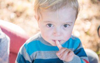 Ben, 3 Jahre, lebt mit einem halben Herz