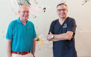 Professor Elger und Professor Gasser