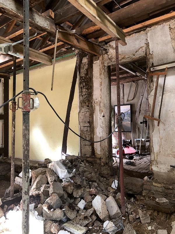Fahwerkhaus sanieren