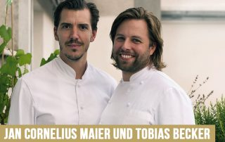 Jan-Cornelius Maier und Tobias Becker