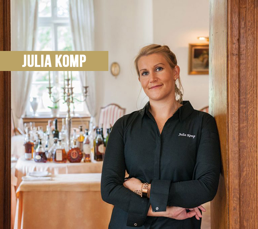 Sterneköchin Julia Komp